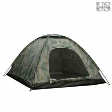 3-4 Person Outdoor Camping Waterproof 4 Season Family Tent Camouflage Hiking US