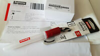 SUPREME 'DON'T ASK ME 4 SH*T' STAMP + LED NITE LITE KEYCHAIN NEW w/ RECEIPT SS18