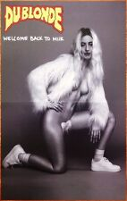 DU BLONDE Welcome Back To Milk Ltd Ed RARE Poster +FREE Indie Psych Pop Poster!