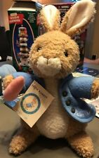"Beatrix Potter World of Peter Rabbit -PETER RABBIT 14"" Plush Eden Toy w/Tag (2)"