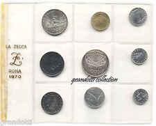 REPUBBLICA 1000 LIRE CONCORDIA E SERIE COMPLETA LIRE UFFICIALE ZECCA 1970 FDC