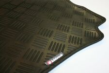 Hyundai Veloster (11-now) Richbrook Black 3mm Rubber Car Mats - Leather Trim