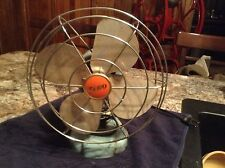"Vintage Zero Electric Fan 8"" Wide Good Runner Good Shape"