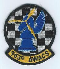 80s 963rd AWACS patch
