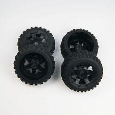 SR Rovan Knobby Tire on HD 6 Spoke Wheel fit HPI Baja 5B SS King Motor Buggy