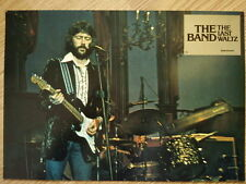 THE BAND - LAST WALTZ German lobby card #2  Bob Dylan - ERIC CLAPTON - SCORSESE