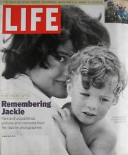 JACKIE KENNEDY August 1999 LIFE Magazine THE WHITE SANDS MUSTANGS