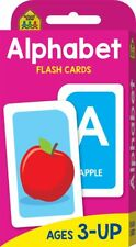 ALPHABET Flash Cards Suitable for Kids Ages 3 - Up Early Learning Hinkler