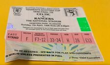 More details for celtic f.c - match tickets  - scottish cup semi final - rangers - 07-04-1996