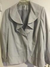 Women's Business Work meeting day night Church suit gray jacket only plus 22W 2X