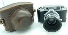 Vintage AKAREX film Camera w/ 50mm standard XENON Lens Made in Germany