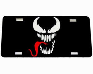 Venom Marvel Superhero Custom Mirror License Plate - Auto Tag - Vanity Plate