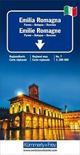 KuF Italien Regionalkarte 07. Emilia Romagna 1 : 200 000 (2019, Sheet map)