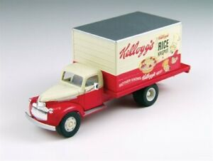 Classic Metal Works HO Scale 30391 1941-1946 Chevrolet Delivery Truck Kelloggs