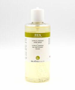 REN Clean Skincare Citrus Limonum Hand Wash 300ml - NEW - No Pump Top #3439