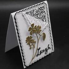 Flower Frame Metal Cutting Dies Stencil Scrapbooking Card Embossing Crafts DIY