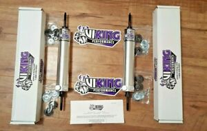 1955-1956 Ford Fairlane Viking 19 way Double Adjustable Rear Shocks Pair