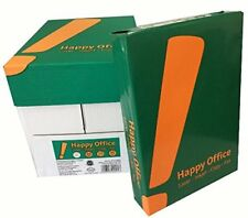 2500 Blatt Happy Office 80g/m² Papier DIN A4 Kopierpapier HappyOffice weiß