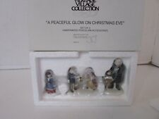 Dept 56 58300 A Peaceful Glow On Christmas Eve Set Of 3 Figures D3