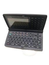 Casio Digital Diary, Model: SF-5580E Backlight Display