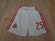 Youth Mexico #25 S Soccer Futbol Shorts (White) Adidas