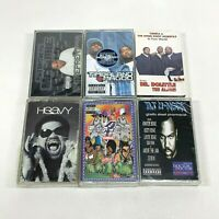 Lot of 6 Cassette Tapes Rap Hip Hop 90's Twista Timbaland Magoo DJ U-Neek [NEW]