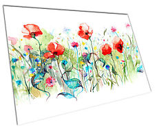 POPPY FLOWERS WALL ART LARGE A1 POSTER 33 X 23 INCH