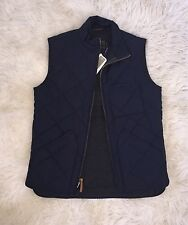 JCrew Men's Sussex Quilted Vest Insulated Outerwear 35919 $138 Vintage Navy XS