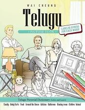 Telugu Picture Book: Telugu Pictorial Dictionary (Color and Learn) by Wai...