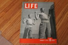 LIFE Magazine January 11, 1937  Japanese Soldiers, Winslow Homer, Birth Control