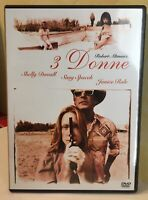 3 Donne DVD Come Nuovo Di Robert Altman Shelly Duvall Sissy Spacek J. Rule Tre