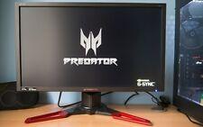 "Acer predator xb 241 hbmipr-Top 3d Gamer monitor 24"" Full HD-G-Sync 1ms 144hz"