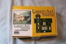 Laser Art Structures HO Drayton House kit