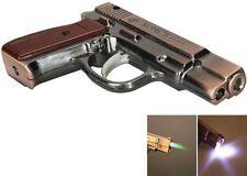 Revolver cigaret Gas Jet Lighter Metal  With light Windproof Lighter U.K.Seller