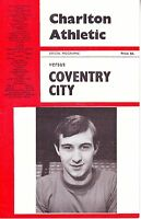CHARLTON ATHLETIC V COVENTRY CITY 18 FEB 1967 2nd DIVISION at The VALLEY VGC