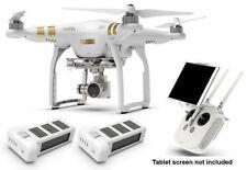 DJI Phantom 3 Professional RC Drone QuadCopter 2 Battery COMBO W/ GPS 4K Camera
