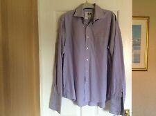 Men's Lilac Check. Shirt. Next, 161/2 Reg Fit