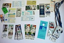 SEATTLE MARINERS Lot of 23+ Ticket Stubs (1990-2017) w/ Diamond Club Lanyards