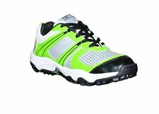 Warrior Cricket Shoe Men Athletic Breathable Sport Trainer Pu Green Express Ship