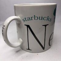 1994 Starbucks New York Coffee Mug Cup City Mug Collector Series
