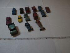 Tootsie toy Matchbox unimog LOT metal cars trucks vintage RARE 14 Mercedes drag