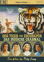 Der Tigre Von Eschnapur / Das Indische Grabmal Nuovo DVD Region 2