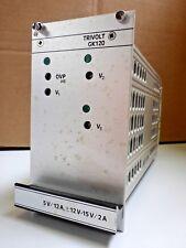 Vero Schaltnetzteil GK120-2 Trivolt 5V / 12A, +/-12-15V / 2A Typ 116-010175L NOS