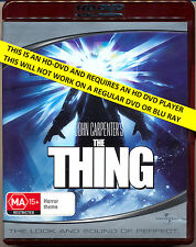 THE THING   Kurt Russell    HD DVD  Flat Rate Tracked Post
