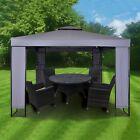 MAXIMUS® Garden Heavy Duty Gazebo 3m x 3m GAZEBO Pavilion Shelter Marquee Patio