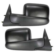 For 94-01 Dodge Ram 1500 94-02 2500 3500 PickupTowing  Mirror Manual None-Heated