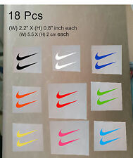 18 Pcs Nike Iron On Heat Press Nike Poly Flex Patch Sports Logo Diy T Shirt