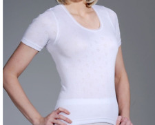 Ladies Thermal Sleeveless,Short Long,Sleeve Vests,French Neck,LongJohn Ski Wear