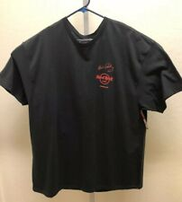 Hard Rock Cafe Honolulu Hawaii Elvis Presley'Authentic Black T-Shirt Sz XXL-NWT