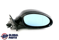 BMW 3 Series 2 E90 M Sport High Gloss Heated Right O/S Wing Mirror Carbon Black